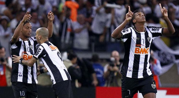 Atletico Mineiro Ronaldinho, Copa Libertadores champion for the first time