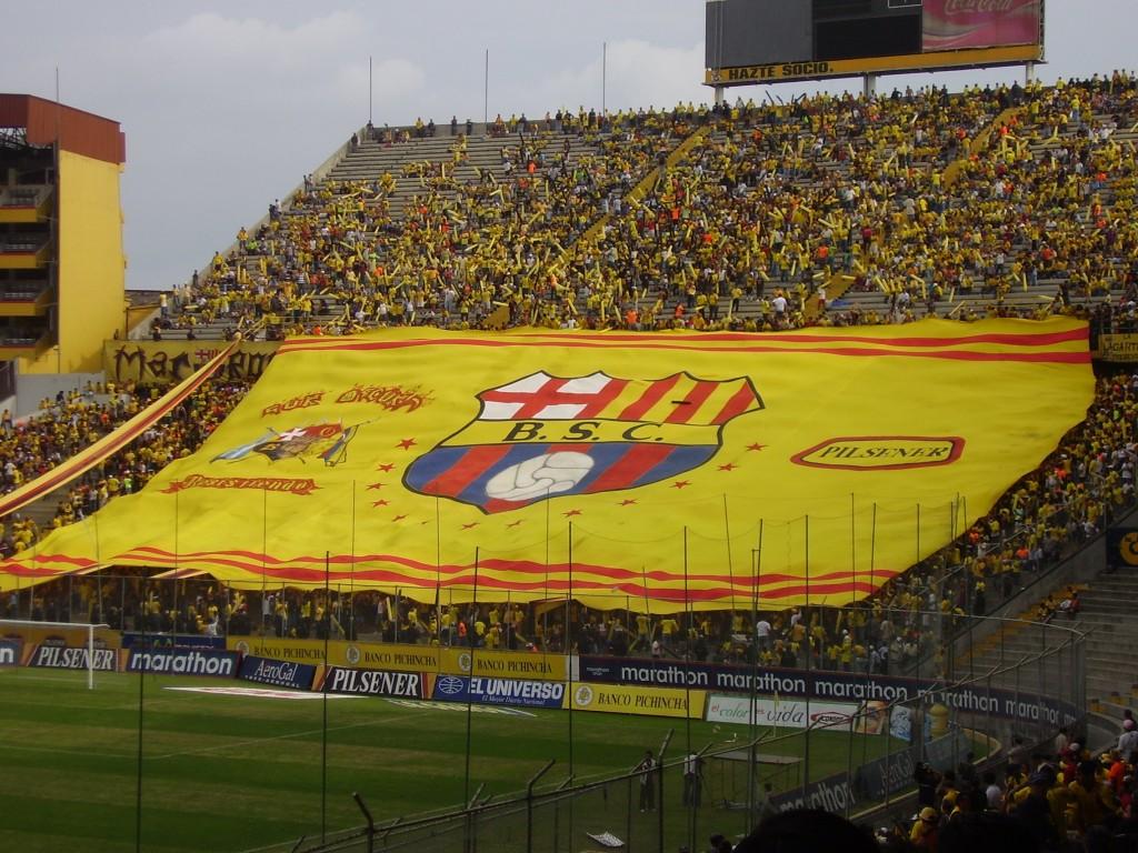 Aquí juega otro Barcelona, el de Guayaquil.