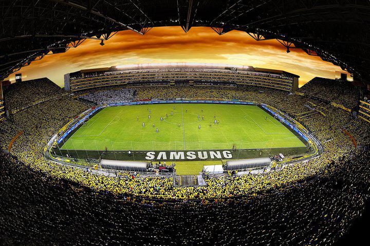 Guayaquil tiene el mejor estadio de Ecuador.