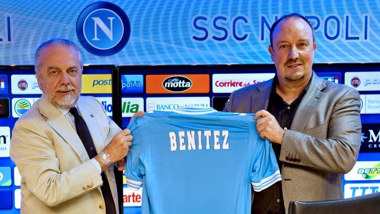 Benitez entrenará al Nápoles la próxima temporada.