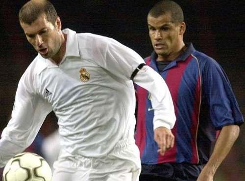 La camiseta del Centenario del Madrid tenía en Zidane a su buque insignia.