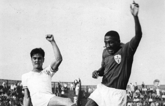 Djalma Santos, the first offensive side of the story