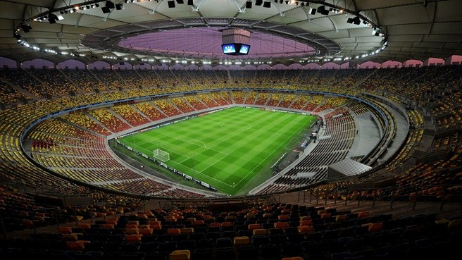 El Estadio Nacional de Bucarest acogió la final de la Europa League 2012.