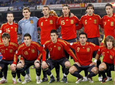 España es la selección con más partidos invicta: 30.