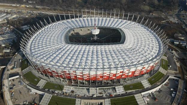 El estadio nacional de Varsovia es el más caro del mundo.