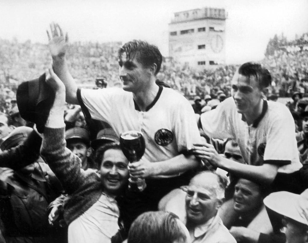 Walter ganó el Mundial de 1954 con Alemania.