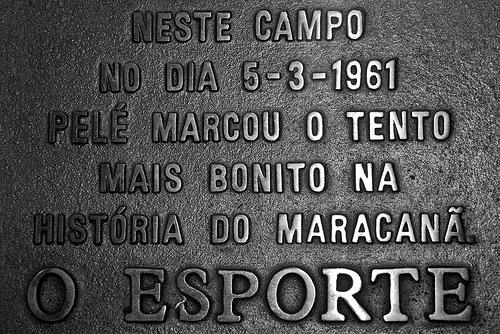 El gol de Placa de Pelé en Maracaná está considerado uno de los mejores de la historia.