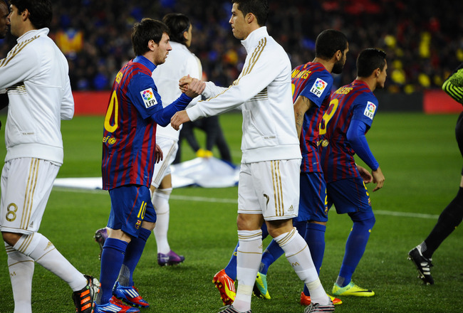 Messi and Ronaldo are the two great stars of the moment.