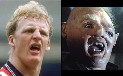 Ian Dowie y Sloth, like two drops of water
