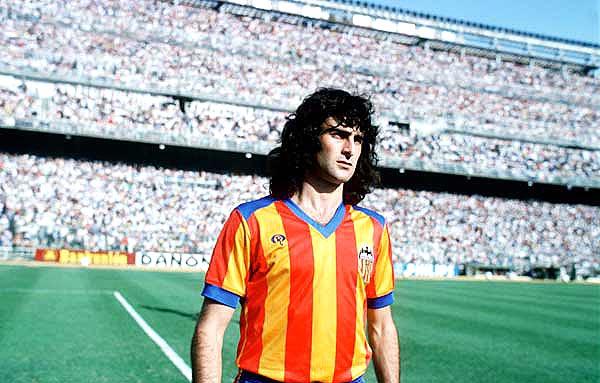 Kempes fue protagonista de la Recopa de 1980.