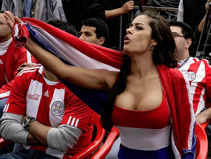 Larissa Riquelme, la paraguaya más internacional