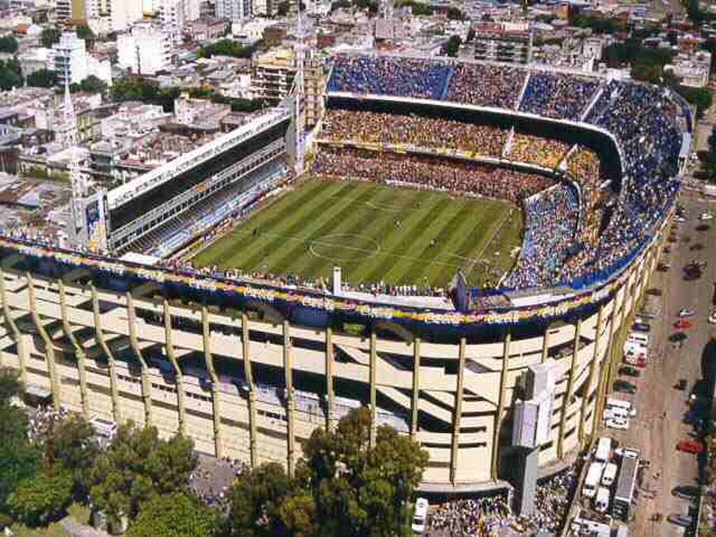 La Bombonera is the stadium of Boca Juniors and is in the neighborhood of Boca.