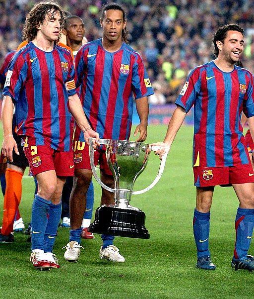 Ronaldinho, Xavi y Puyol lo han ganado casi todo.
