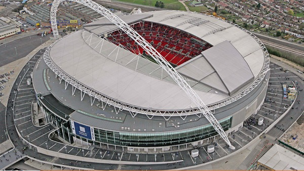 Wembley hosted two ends of Champions.