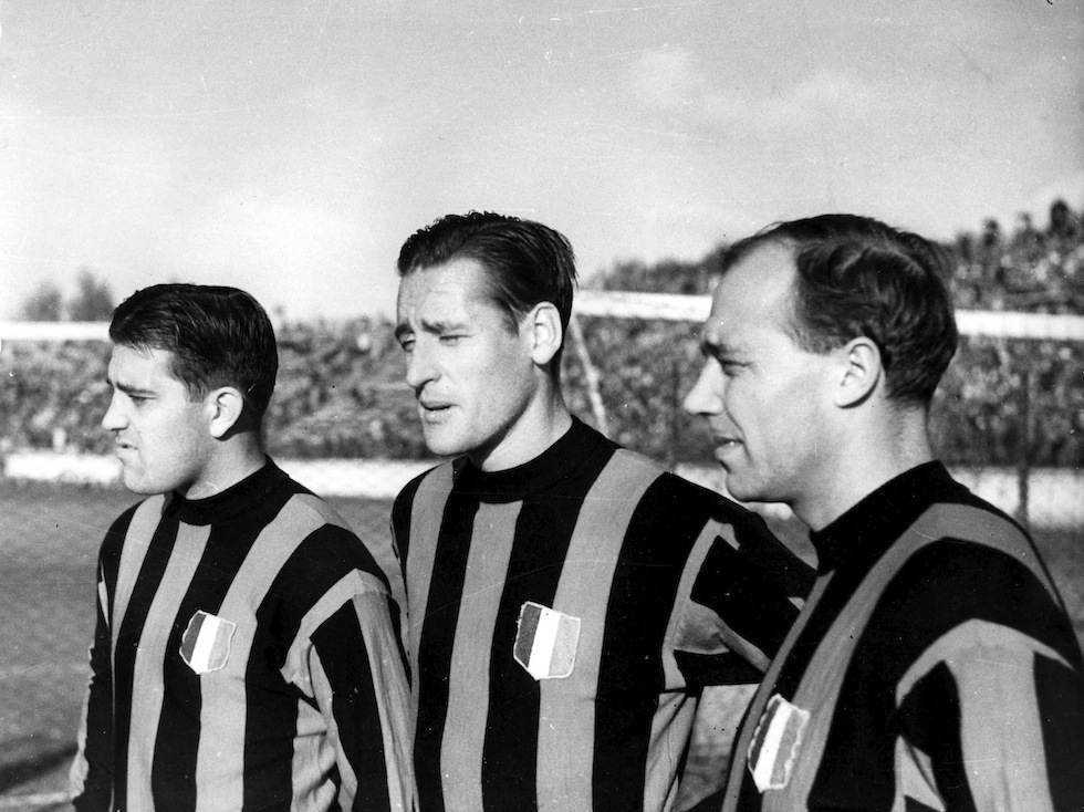 Gunnar Nordahl, Nils Liedholm and Gunnar Gren formed an unforgettable trio at AC Milan.