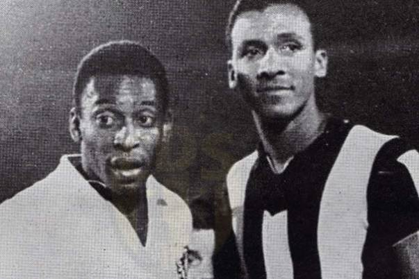 Alberto Spencer and Pele, two players Legend.