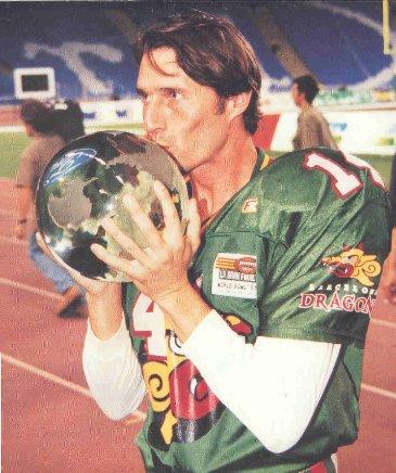 Angoy was better football player than football.