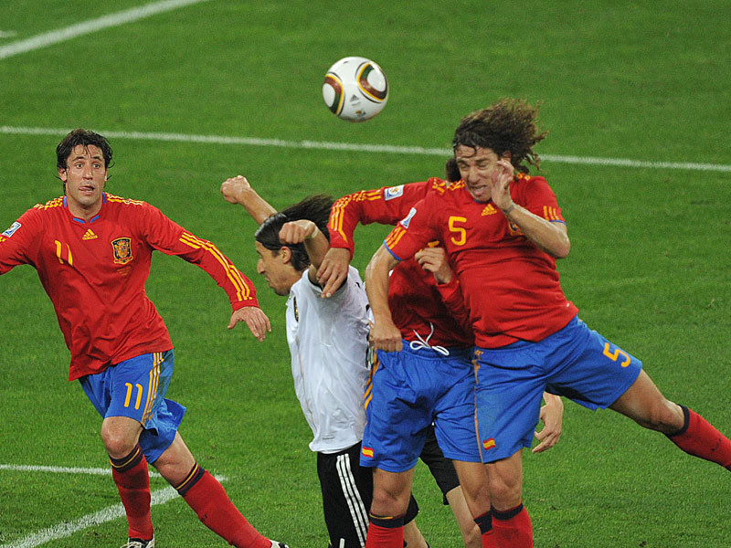 Puyol will always be in the history of Spain for this goal to Germany.