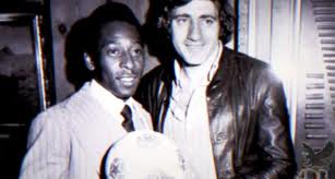 Chinaglia and Pele were teammates in the Cosmos.