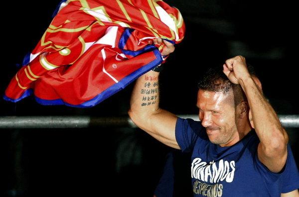 Cholo Simeone es un entrenador de garra y mucho carácter.