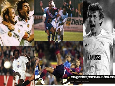 The selection of Colgados: five of the best goals they have set in Spanish football