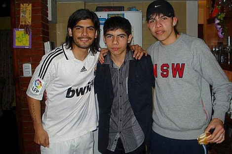 Ever Banega camiseta del real madrid