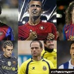 The oldest players in the Spanish League 2013/14