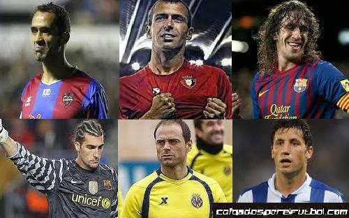 Los jugadores más viejos de la Liga española 2013/14