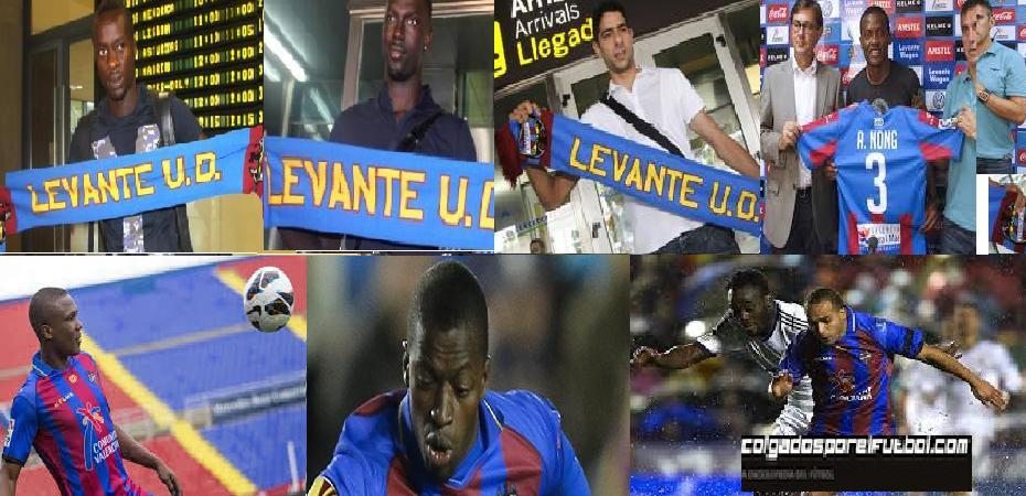 El Levante, el equipo con más africanos de la Liga española