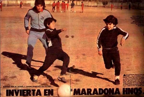 The brothers Maradona failed to meet expectations.