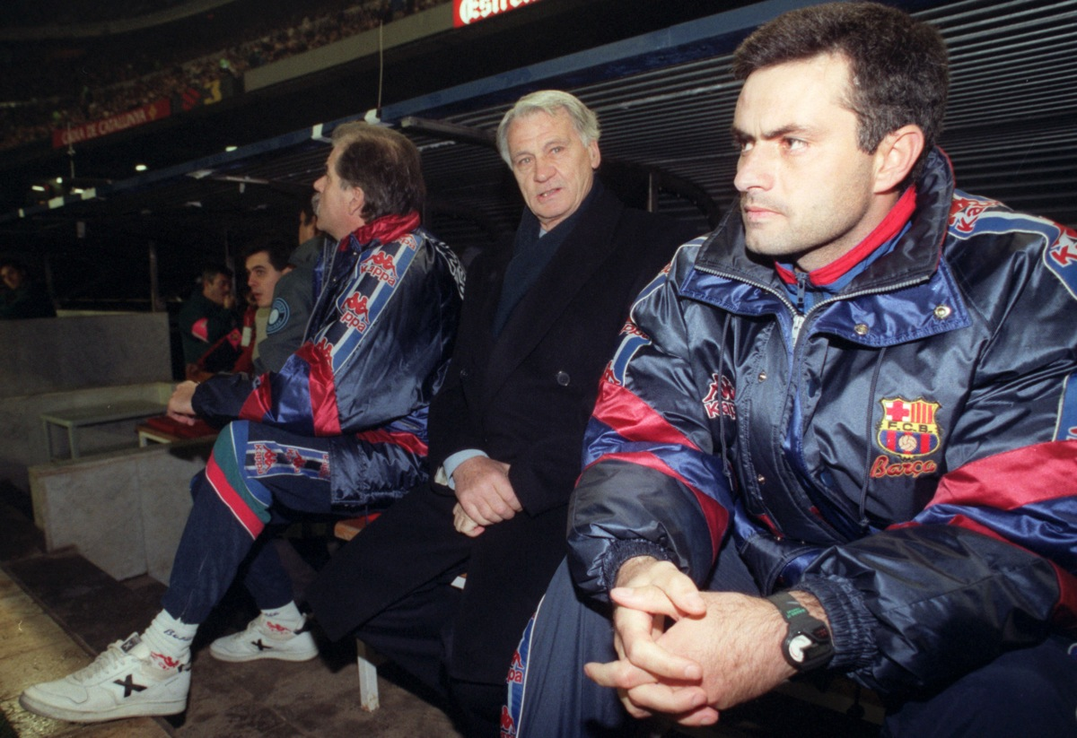 "Mourinho no siempre fue ""The Special One"". First it was Bobby Robson's translator."