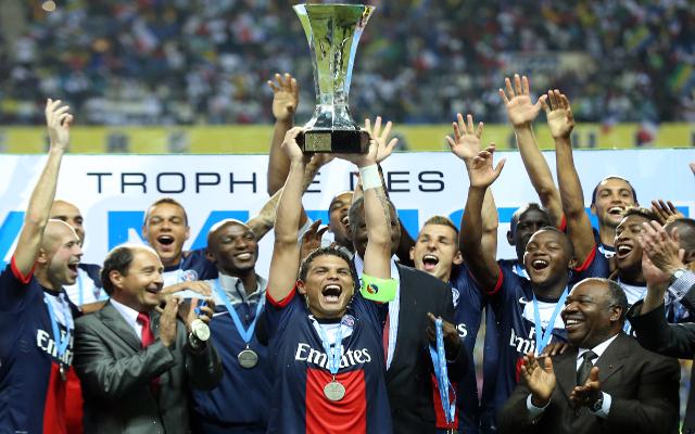 El PSG ganó la Supercopa francesa disputada en Gabón.