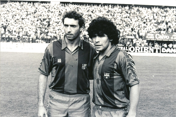 Quini and Maradona, two stars in Barcelona