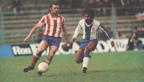 Quini es el máximo goleador de la historia del Sporting de Gijón en Primera