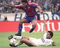 Rafa Alkorta was pricked with Romario saw them on more than one occasion.