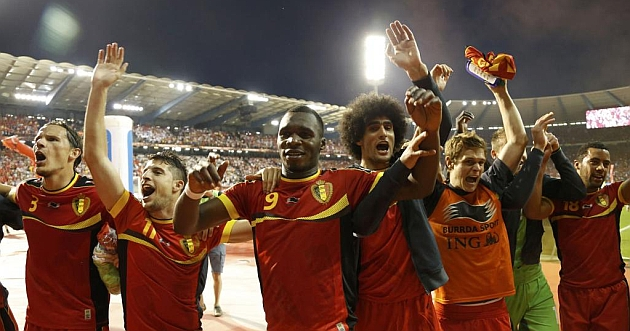 The Belgians have very well to go to the World Cup in Brazil 2014.