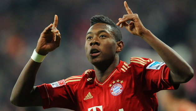 Alaba is the great left side of the future.
