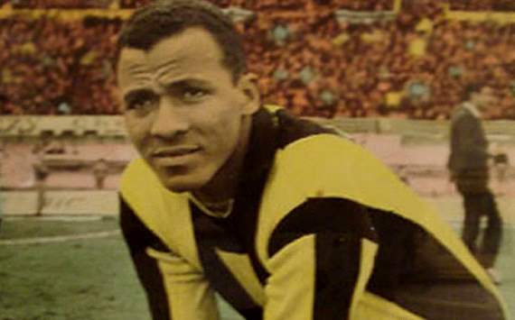 Alberto Spencer's shirt Penarol where he scored a time