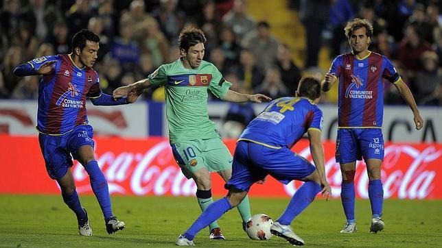 La ficha de Messi es más alta que la de todo el Levante junto.