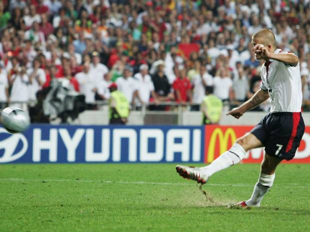 Beckham, one of the best English jugadres history