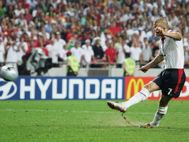 Beckham, uno de los mejores jugadres ingleses de la historia
