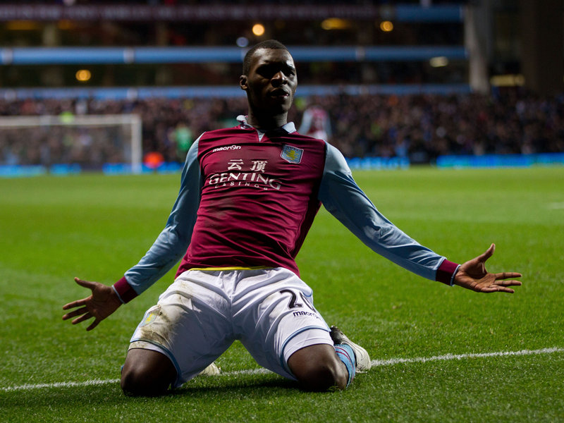 Benteke is the hero of Aston Villa. Congolese, plays with Belgium.