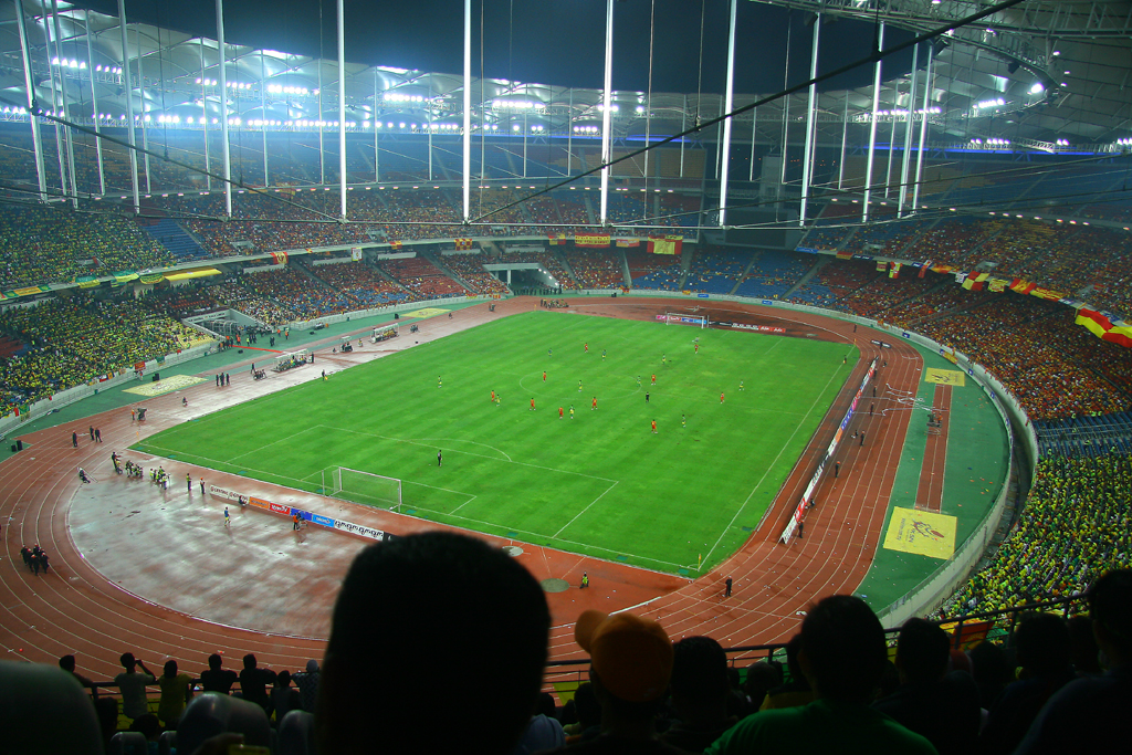 The Bukit Jalil is a work of art.