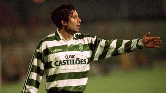 Luis Figo Sporting Lisbon