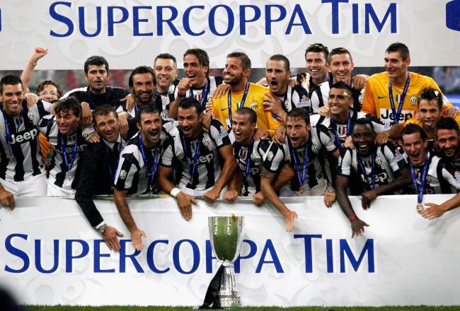 La Juve ha ganado la Supercopa italiana.