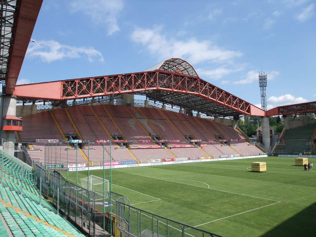 Nereo Rocco has a stadium with his name in Trieste, a few kilometers from the border with Slovenia.