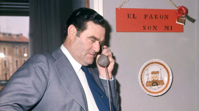 """Nereo Rocco era conocido como el """"Patrón""""."""