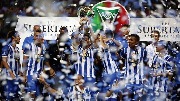 El Oporto se ha hecho con una nueva Supercopa de su país.