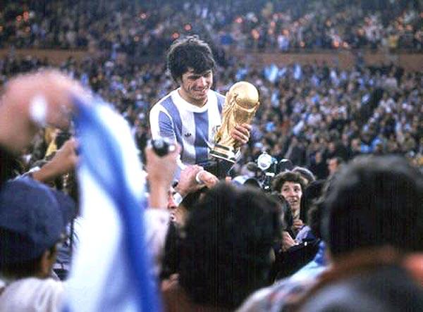 Passarella ganó el Mundial de 1978 y 1986.