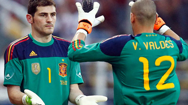 If Valdes had arrived before Casillas, Catalan may have been the titular goalkeeper.